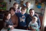 Многодетная семья Цветковых нуждается в нашей помощи