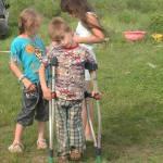 Родные приемные детки на Северной Двине